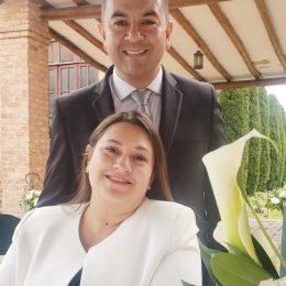 Gustavo Garzon y Paola Tabares